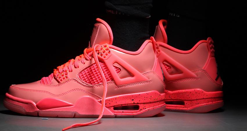 Nike Air Jordan 4 Hot Punch Womens Release Date 05