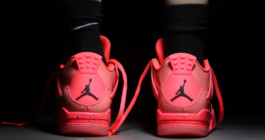 Nike Air Jordan 4 Hot Punch Womens Release Date 06