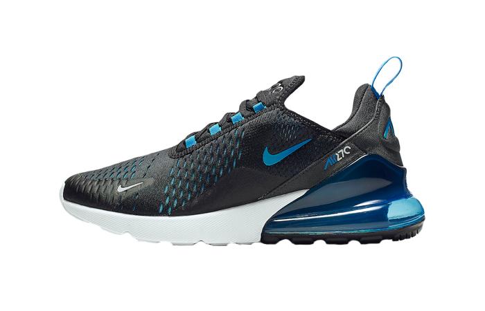 4d735e59c Nike Air Max 270 Black Photo Blue AH8050-019