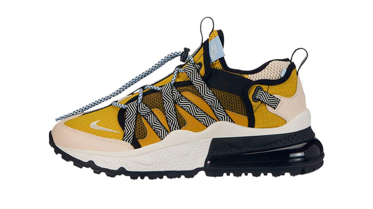 meet 00eb9 30188 Nike Air Max 270 Bowfin Yellow Multi AJ7200-300