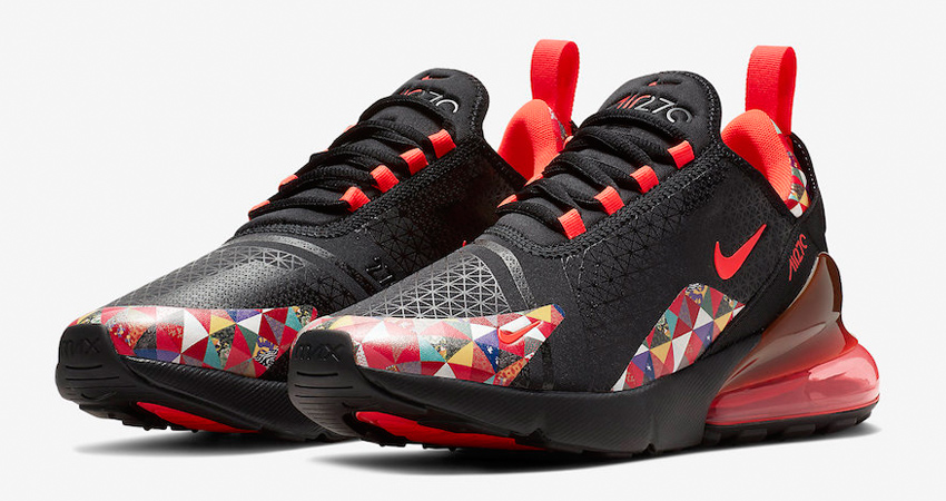 Nike Air Max 270 Chinese New Year First Look </p>                     </div>                     <!--bof Product URL -->                                         <!--eof Product URL -->                     <!--bof Quantity Discounts table -->                                         <!--eof Quantity Discounts table -->                 </div>                             </div>         </div>     </div>              </form>  <div style=