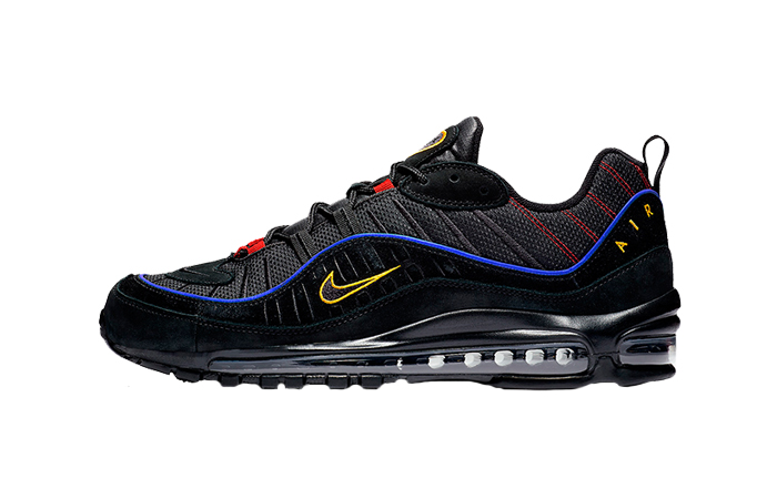 Nike Air Max 98 Black Blue CD1537-001 01