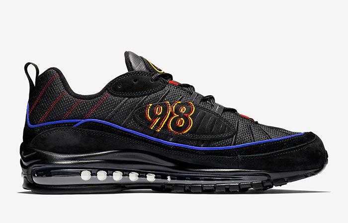 Nike Air Max 98 Black Blue CD1537-001 02