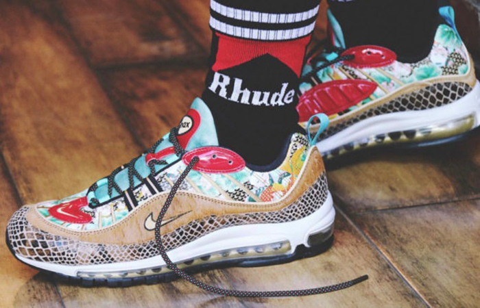 reputable site 3ee5b 5c615 Nike Air Max 98 Chinese New Year 2019