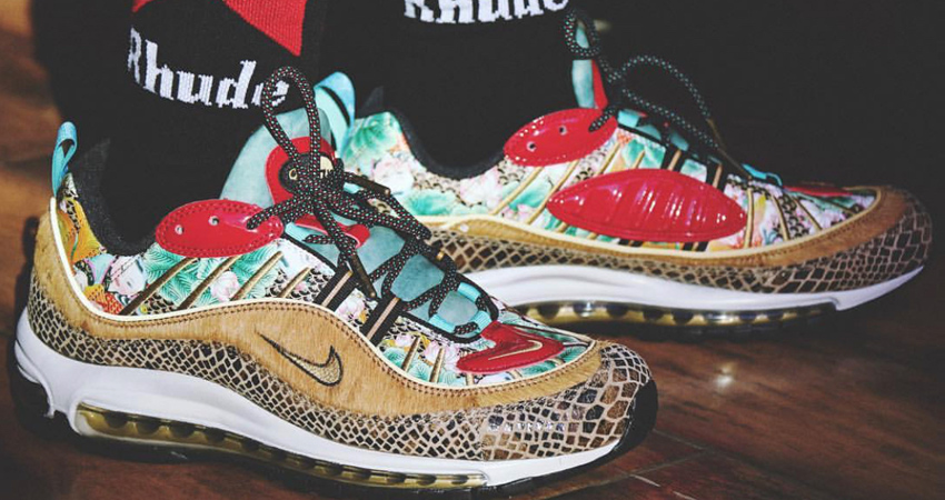 Nike Air Max 98 Chinese New Year 2019 Closer Look – Fastsole