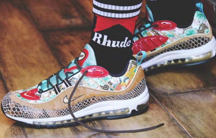 Nike Air Max 98 Chinese New Year 2019 Closer Look ft