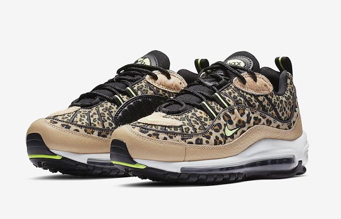 buy online b3003 d53b1 Nike Air Max 98 Leopard Print BV1978-200 – Fastsole