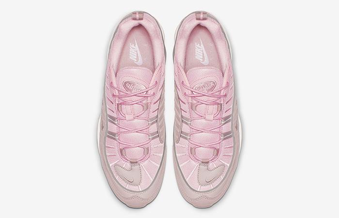 Nike Air Max 98 Pink Pumice Womens 640744-200 02