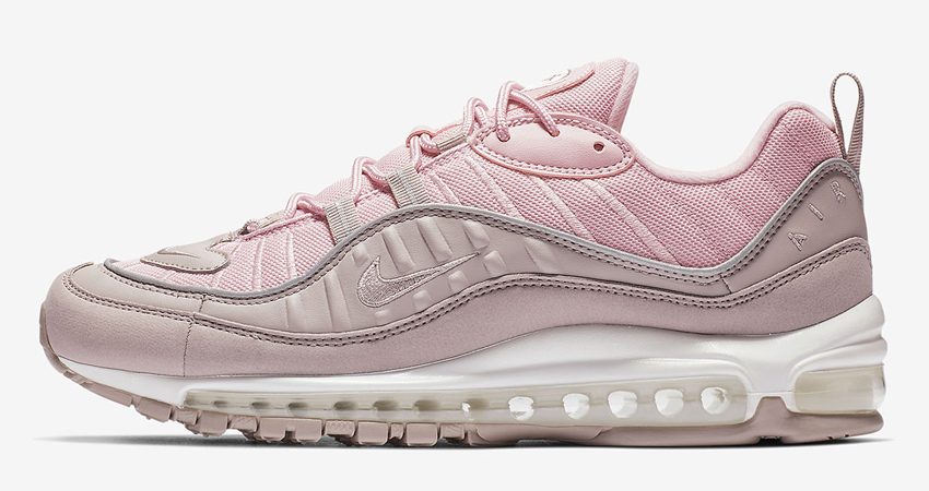 Nike Air Max 98 Pink Pumice Womens 640744 200 – Fastsole