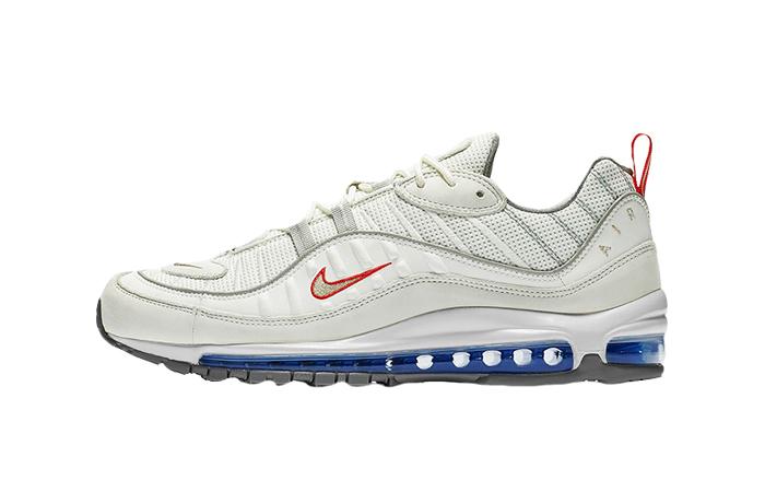 Nike Air Max 98 White Silver CD1538-100 01