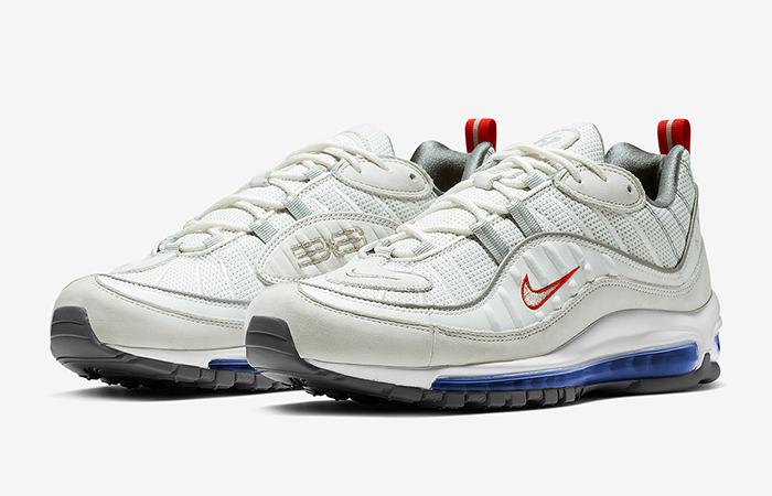 Nike Air Max 98 White Silver CD1538-100 02