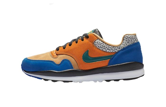 Nike Air Safari SE SP Orange Blue BQ8418-800 01