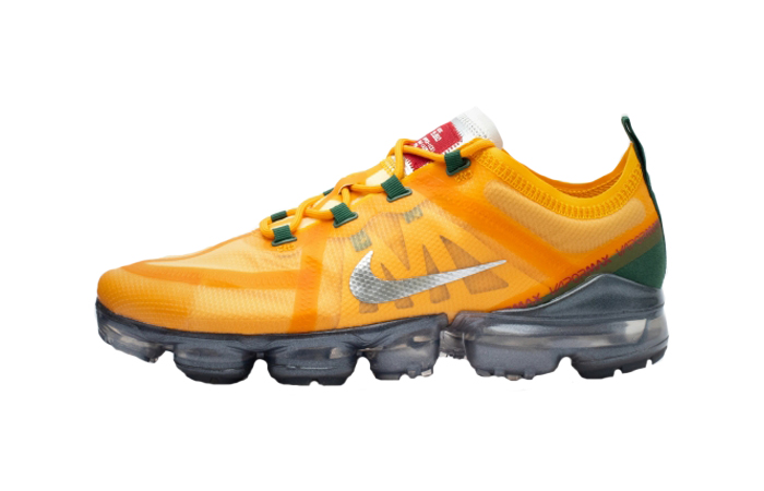 Nike Air Vapormax 2019 Orange Green AR6631-700 01