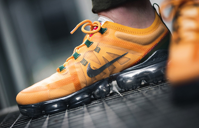 Nike Air Vapormax 2019 Orange Green AR6631-700 02