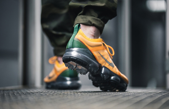 Nike Air Vapormax 2019 Orange Green AR6631-700