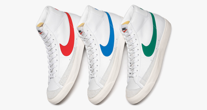 super cute 93e91 58ae8 Nike Blazer Mid 77 Vintage Pack Release Details 01