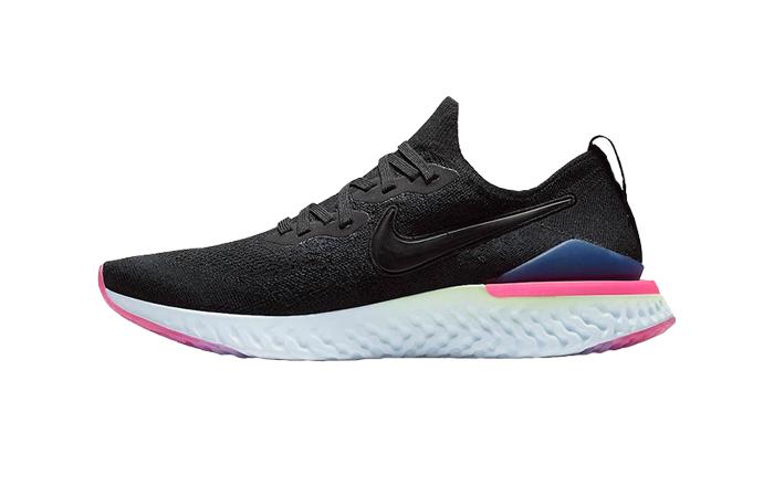 Nike Epic React Flyknit 2 Black Pink BQ8928-003 01
