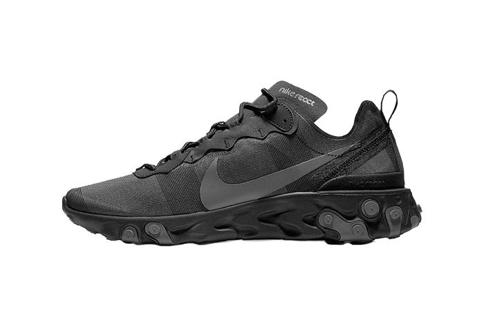 Nike React Element 55 Black BQ6166-008 01