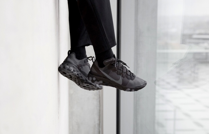 Nike React Element 55 Black BQ6166-008 02