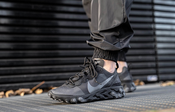Nike React Element 55 Black BQ6166-008 03