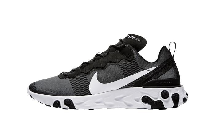 Nike React Element 55 Black White BQ6166-003 01