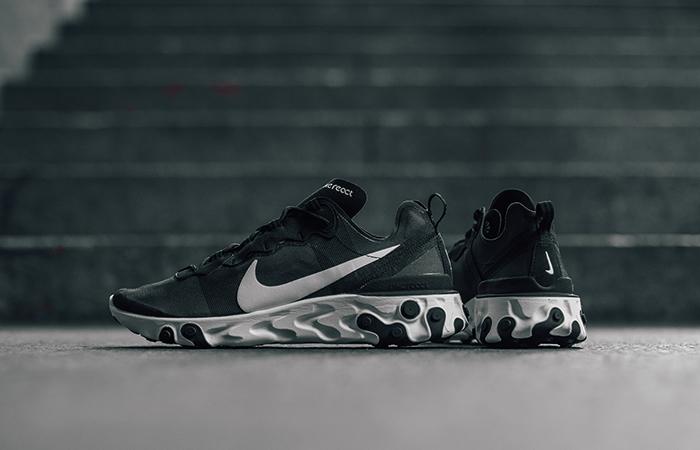 Nike React Element 55 Black White BQ6166-003 02
