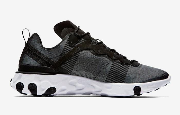 Nike React Element 55 Black White BQ6166-003 03