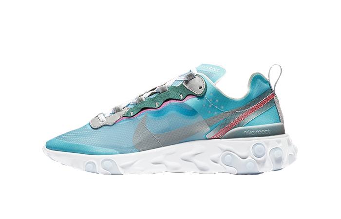 Nike React Element 87 Royal Tint Blue AQ1090-400 01