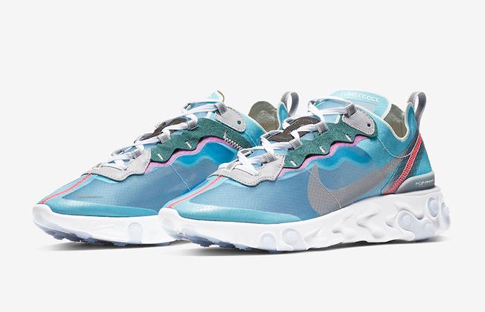 Nike React Element 87 Royal Tint Blue AQ1090-400 03