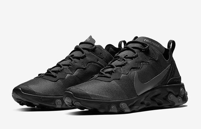 Nike React Element Black BQ6166-008