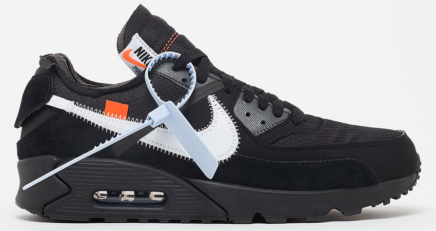 new arrival 2c56f 29577 Off-White x Nike Air Max 90 Black Buying Guide 01