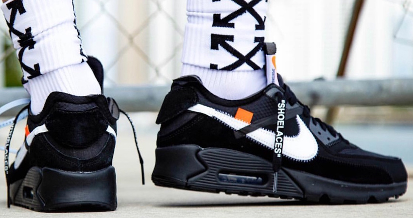 Off-White x Nike Air Max 90 Black Buying Guide 04