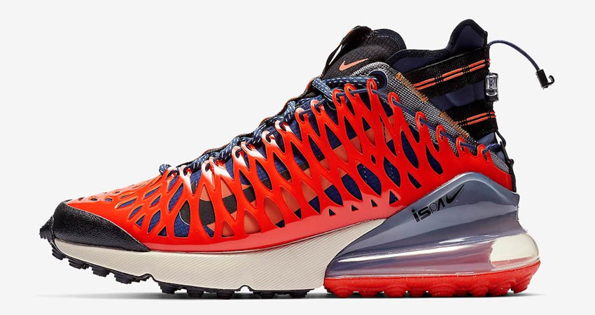 a86ede9f3cb Official Look at the Nike ISPA Air Max 270 SP SOE Terra Orange ...