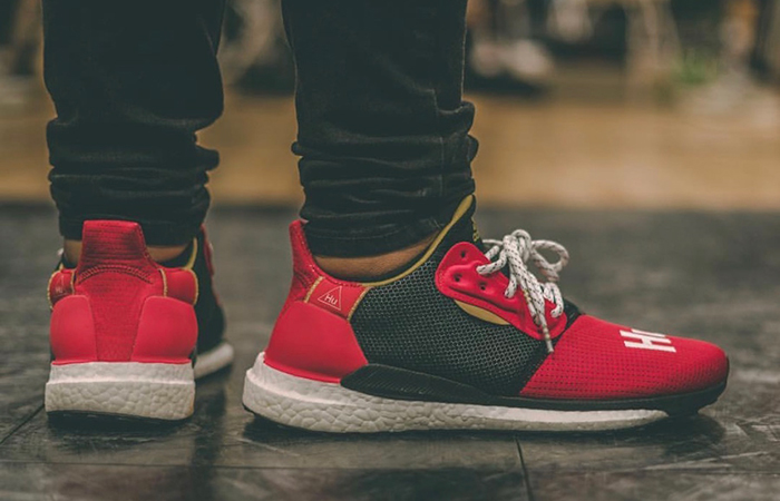 148cf7c16d419 ... Pharrell adidas Solar Hu Glide ST Chinese New Year 2019 EE8701 03 ...