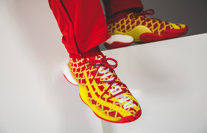 Pharrell x adidas Crazy BYW Chinese New Year 2019 Release Date ft