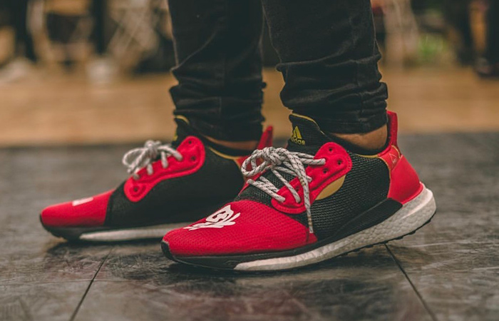 Pharrell x adidas Solar Hu Glide ST Chinese New Year Closer Look ft