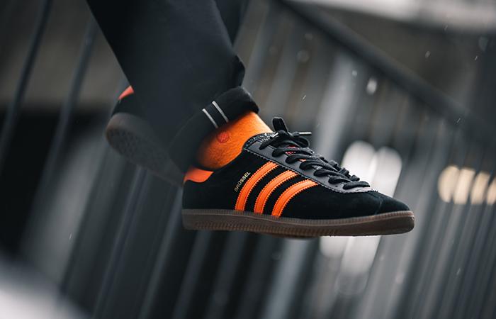 adidas Brussels Black Orange EE4915