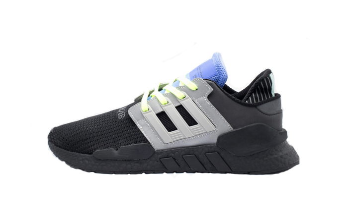 the latest 4041b a272a adidas EQT Support 91/18 Black Blue CG6170