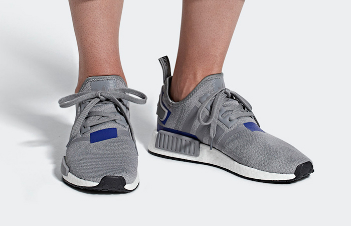 finest selection 81a36 7c20c adidas NMD R1 Grey Blue