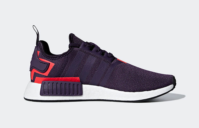 adidas NMD R1 Legend Purple Shock Red in Details – Fastsole