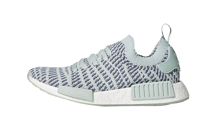 official photos 80880 8aabd adidas NMD R1 STLT PK Ash Green Womens CQ2031
