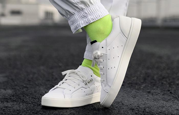 adidas Sleek White CG6199 02