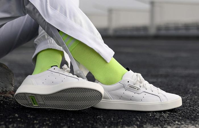 size 40 bf0e9 f8740 ... adidas Sleek White CG6199 03 ...