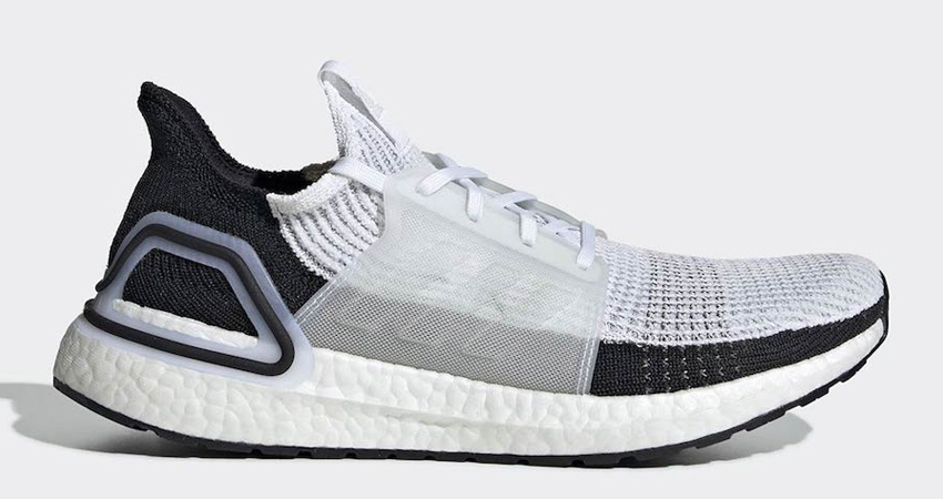 ff3a9a384 adidas Ultra Boost 2019 White Black Official Take – Fastsole