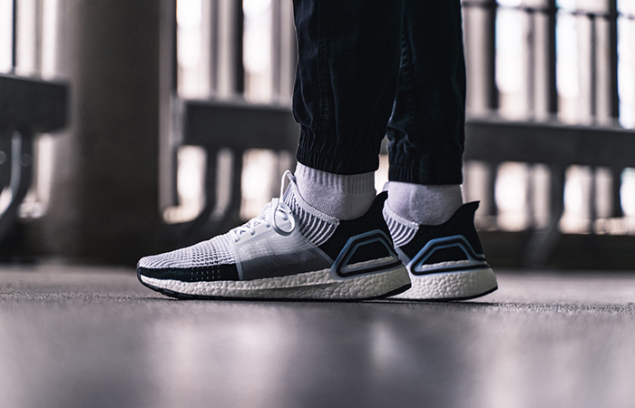 adidas Ultra Boost 2019 Whte Black B37707