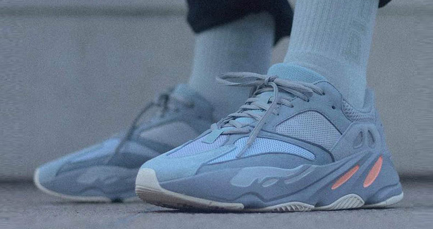 a7167e83f7f adidas Yeezy Boost 700 Inertia On Foot – Fastsole