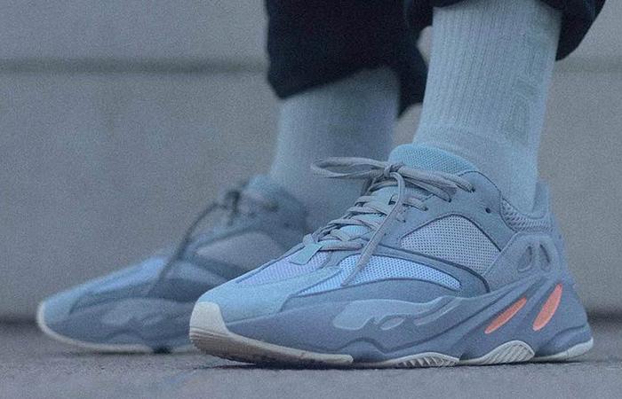 afb4b9441d7 adidas Yeezy Boost 700 Inertia On Foot