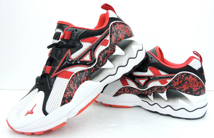 Mizuno Wave Rde 1 Black Red D1GA192509