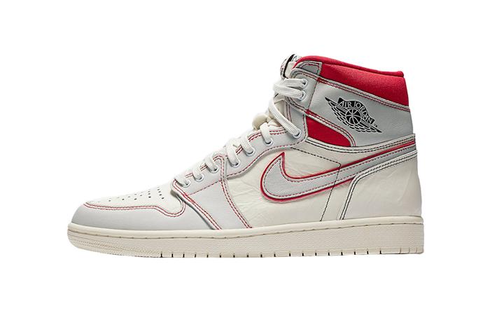 Air Jordan 1 High OG Sail University Red 555088-160 01