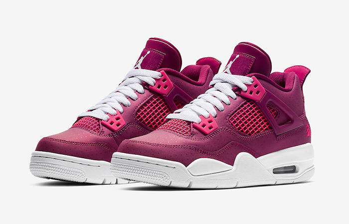 Air Jordan 4 True Berry White 487724-661 02